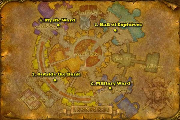 Where Can I Find A New Mount In Stormwind City