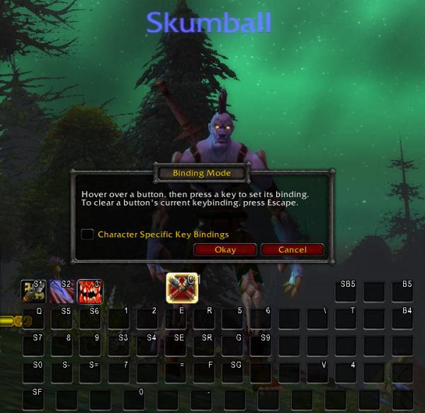 Skumball's Keybinding Guide