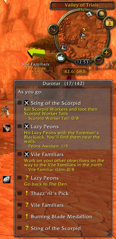 wow leveling addon