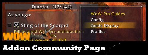 WoW-Pro Addon Community Page | World of Warcraft Pro