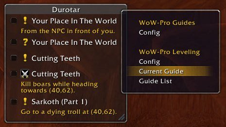 Revized WoW-Pro Addon | World of Warcraft Pro