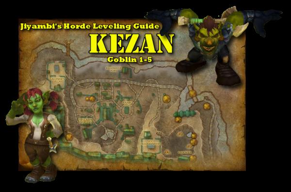 Kezan Guide