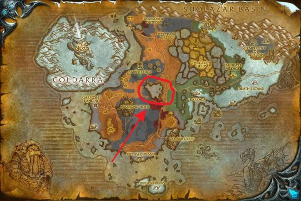 world of warcraft map cataclysm. Here is a map of Borean with