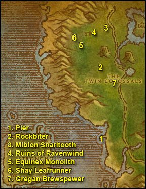 Jame's Alliance Leveling Guide - Chapter III (50-60) | World of