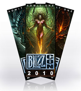 Blizzcon 2010 Ticket