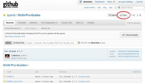 Learning git/github with WoWPro Addon - Part 2 | World of