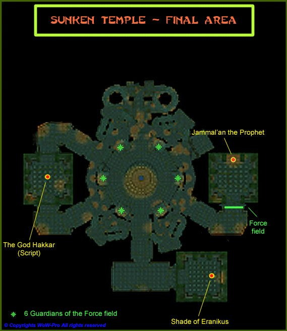 45 53 Jame S Guide To The Sunken Temple Aka The Temple Of Atal Hakkar Wow Pro