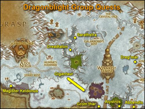 James Horde Leveling Guide Dragonblight 74 75 World Of