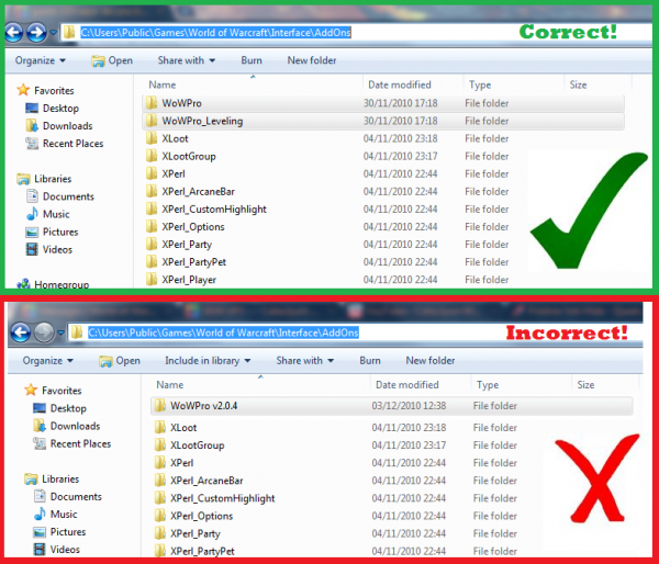 how to install addons wow