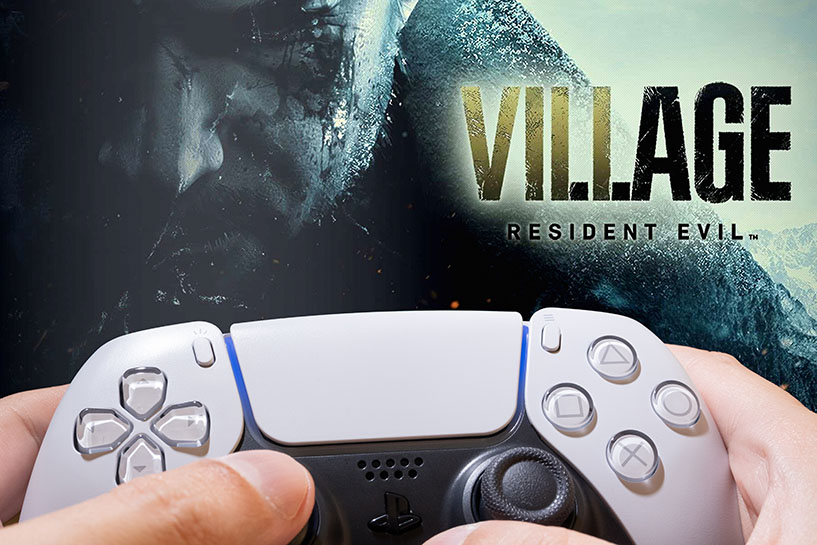 Playing Resident Evil Villageon PS5