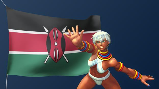 Street-Fighter-African-Characters-Elena-Kenya