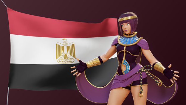 Street-Fighter-African-Characters-Menat-Egypt
