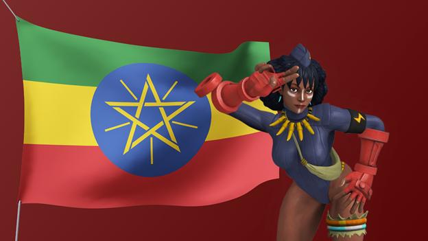 Street-Fighter-African-Characters-Santamu-Ethiopia